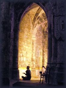 Méditation abbaye Marcilhac sur Célé