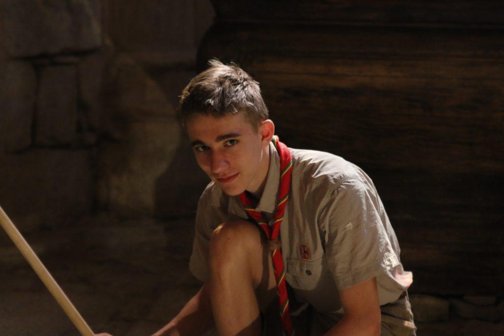 Bénévole scout