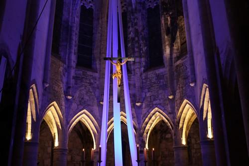 Chœur de l'abbaye de Marcilhac