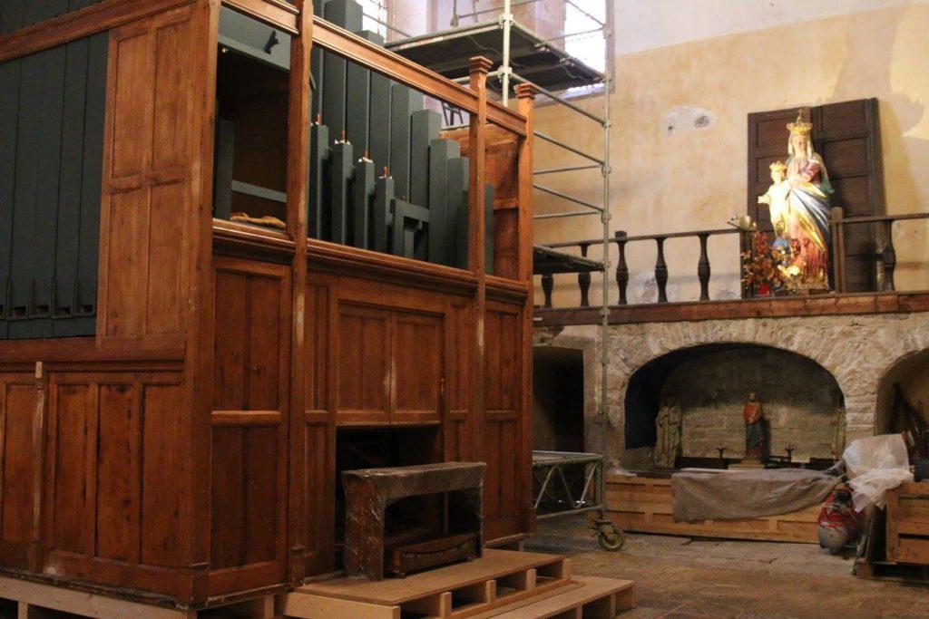 Orgue de l'abbaye de Marcilhac sur Célé