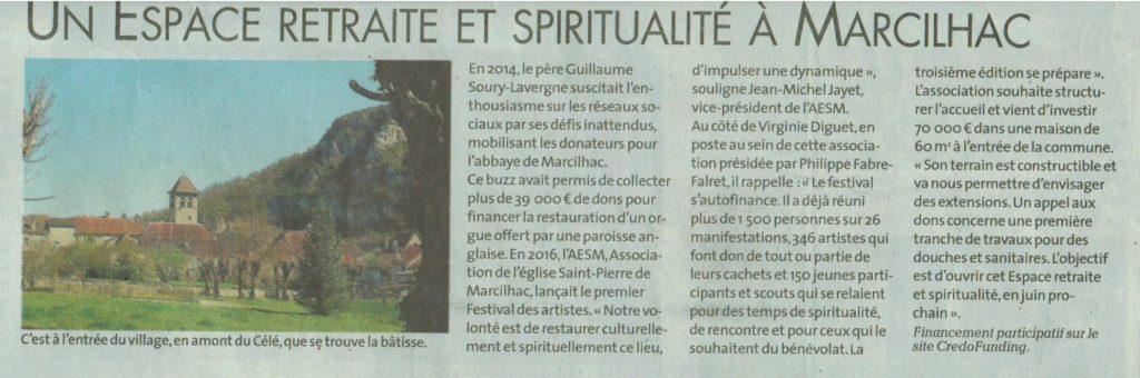 Retraite et spiritualité