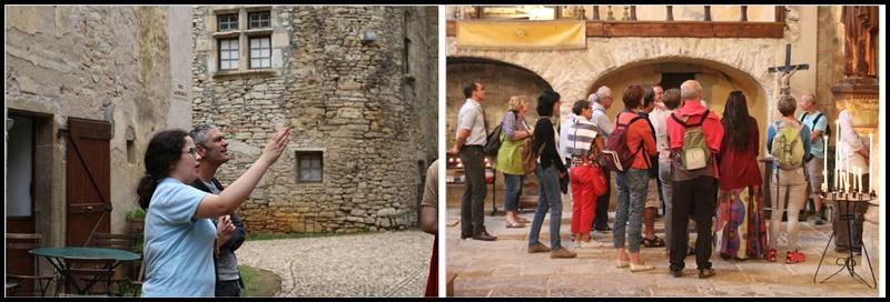 Visites guidées de l'Abbaye de Marcilhac/Célé