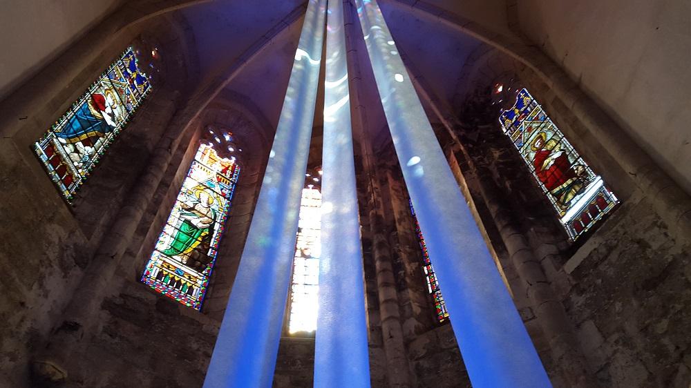 Vitraux de l'abbaye de Marcilhac/Célé
